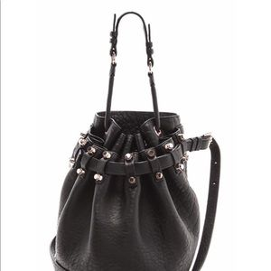 Authentic Alexander Wang Black Leather Bag